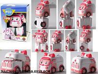Машинка - трансформер Робокар Поли Эмбер (Robocar Poli) арт. 688