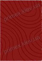 Ковер для дома Opal Cosy structure рельеф цвет красный