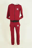 Спортивний костюм теплый на байке Adidas 3417