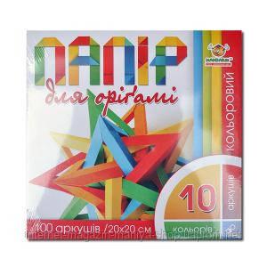 Бумага для оригами 20×20 см 100 л.