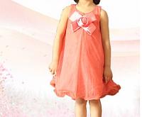 Детское платье-сарафан  бант