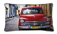 Декоративная подушка   Авто (хлопок)