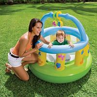 Манеж детский  Intex 48474  надувной, круглый, 130-104см