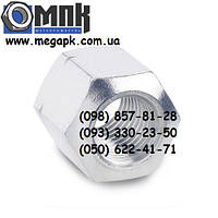 Гайки нержавеющие М6 DIN 6330 шестигранные высокие, сталь А2, А4.
