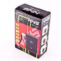 Портативная радио-колонка nns ns-018u, поддерживает карту памяти и usb-флэш, аккумулятор/батарейки, з/у