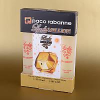 Парфюмерия мини женская Paco Rabanne Lady Million в подарочной упаковке 2х35 мл ASL