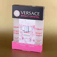 Парфюмерия мини женская Versace Bright Crystal (Версаче Брайт Кристал) в подарочной упаковке 2х35 мл ASL