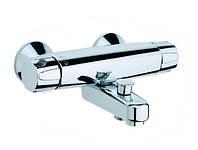 ORAS NOVA 38 мм Термостатический смеситель для ванны короткий правое подключение 7442 X