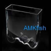 Aquael Aqua Decoris аквариум Волна ручной работы, 3.5л