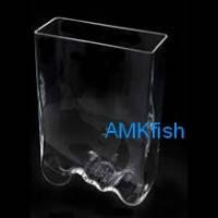 Aquael Aqua Decoris аквариум Волна ручной работы, 4л
