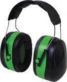Наушники VITA с шумоподавлением 32dB (зелёные усиленный мягкий наголовник)