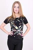 Молодежная летняя футболка Абстракция , фото 1