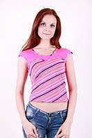 Женская футболка в расцветках, фото 1