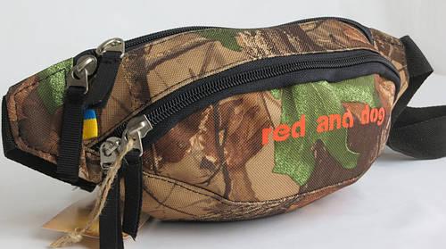 Поясная сумка Red and Dog Wilky - Camo 5 камуфляж Размеры: 30х13х10 см.