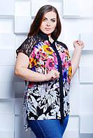 Рубашка с удлиненной спинкой АЛИНА розовый, фото 1