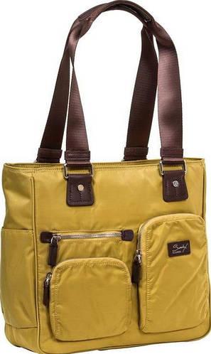 Женская деловая сумка с отделением для нетбука Sumdex NON-701GM зеленый