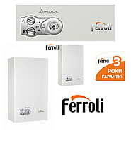 Котёл настенный газовый Ferroli Domina 24F (Турбированный) NEW