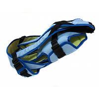 Рюкзак кенгуру переноска три положения Womar Blue.L