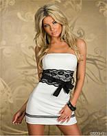 Платье с черным кружевом, короткое платье, платье кружево, плаття