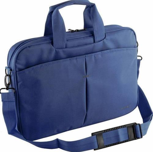 """Надежная мужская сумка для ноутбука 15,6"""" Continent CC-012 Black черный, CC-012 Blue синий"""