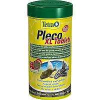Корм Tetra Pleco Tablets XL 133 таб. для любых видов крупных травоядных донных рыб (210059)