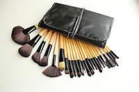 Профессиональный набор кистей для макияжа 24 штуки