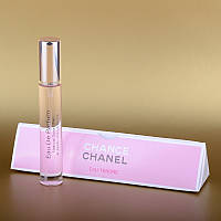 Женский мини парфюм Chanel Chance Eau Tendre (Шанель Шанс О Тендер) 15 ml в треугольнике DIZ
