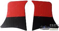 Накладки уголки передние ВАЗ 2101 - 2107 красные