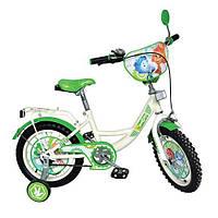 Велосипед детский 12д. с приставными колесами (FX 0034)