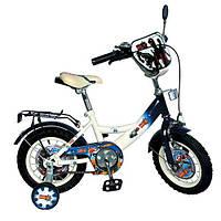 Велосипед детский 12дюймов с приставными колесами (GR 0001)