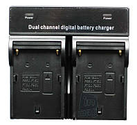 Зарядное устройство для 2-х акумуляторов серии Sony NP-FV, NP-FH, NP-FP..