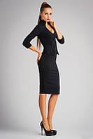 Красивое и элегантное деловое платье в виде  костюма