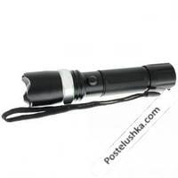 Фонарик ручной светодиодный BL-T8626 (металл,пластик,1 Cree Led лампа, zoom,на аккум или батар(3ААА)