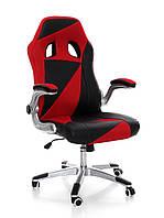 Офисное,компьютерное кресло Nascar, черно-красное