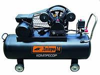 Компрессор воздушный 2-поршневой ВК100-2Р Дніпро-М, ременной (70595000)