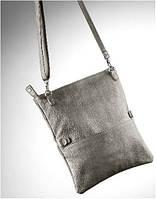 Женская сумка клатч из искусственной кожи Mercedes Clutch Grey