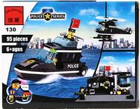 Конструктор Полицейский катер