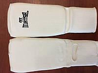 Защита для ног (голень+стопа) Х-б+эластан (белый)