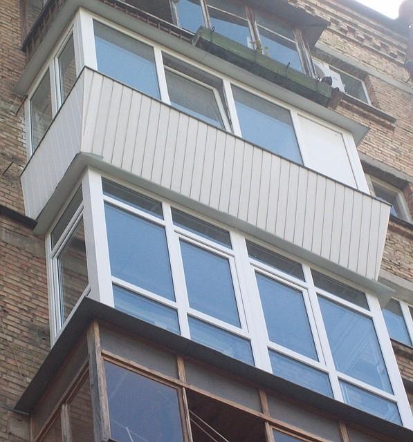 """Балконы """"под ключ"""" в киеве. балконы остеклить недорого, цена."""