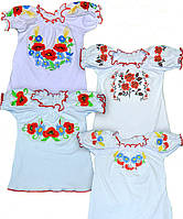 Вышиванка нарядная украинская для девочки