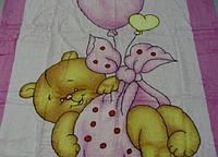 Микрофибровая простынь,покрывало ELWAY 461-2 детский размер (127*152)