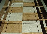 Микрофибровая простынь,покрывало ELWAY 160 полуторный размер (160*210)