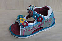 Босоножки и сандалии на девочку, детская летняя обувь, серия ортопедия тм Tom.m р.20,23