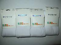 Колготы для девочек Aura.via KIDS белые оптом 4-6 лет.