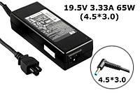 Зарядное устройство сетевой адаптер для ноутбука HP 19.5V 3.33A 65W 4.5*3.0 Envy 14K00TX Pavilion 15-e00