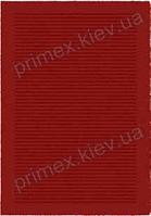 Ковер для дома Opal Cosy structure борозды цвет красный