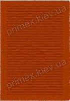 Ковер для дома Opal Cosy structure борозды цвет оранжевый