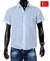 Красивые модели мужских летних рубашек.