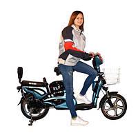 Легкий двухместный электровелосипед для города Skybike Elf