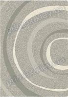 Ковер шагги Opal Cosy structure водоворот цвет светло-серый
